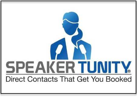 Get Booked to Speak, Get SpeakerTunity!